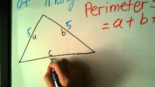 How to Find tнe Perimeter of Triangle