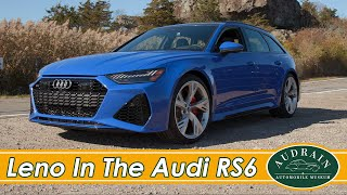 LENO and OSBORNE DRIVE THE 2021 AUDI RS6 AVANT
