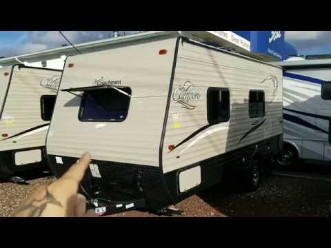 2018 Coachmen Clipper 17fq Travel Trailer Review 13 000 Youtube