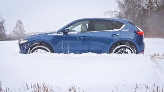 Mazda CX-5 в снегу