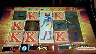 """💰 """"Casino Fun"""" Schöne Eye of Horus Session mit Freispielen auf 1 € & 4 € 💰"""