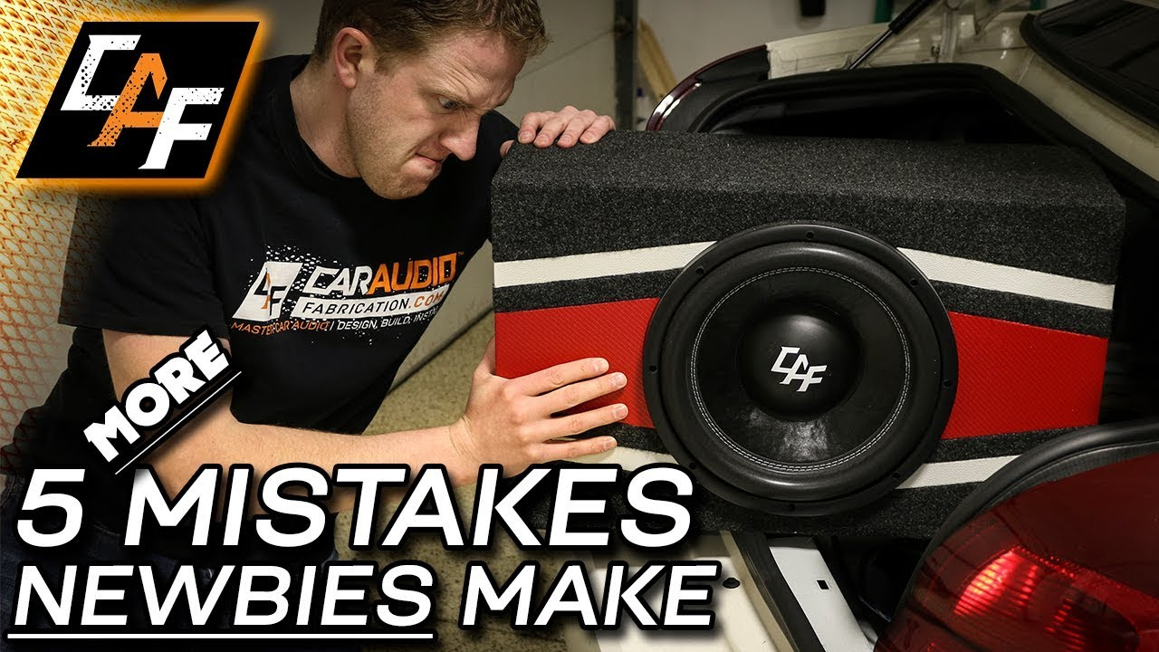 Don T Do This 5 More Common Car Audio Noob Mistakes