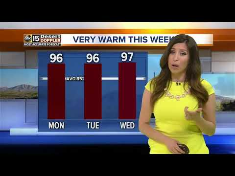 Temperatures getting warmer in the Valley