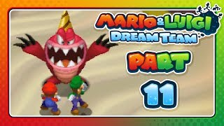 Mario & Luigi: Dream Team - Part 11: DON
