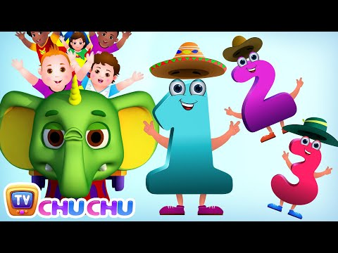 Numbers Song | Learn To Count from 1-20 at ChuChu TV Number Wonderland | Number Rhymes For Children
