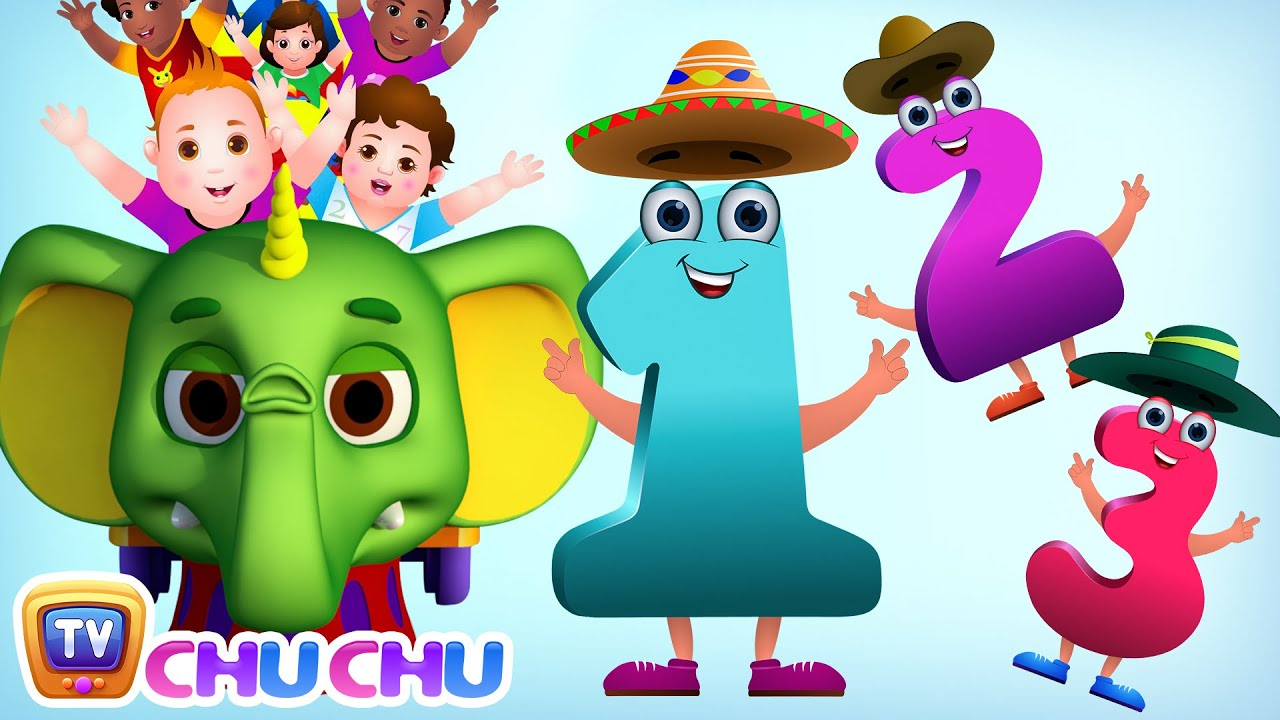 Numbers Song | Learn To Count from 1-20 at ChuChu TV Number Wonderland ...