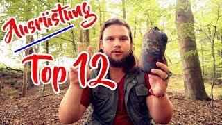 AUSRÜSTUNG ⚡ : Top 12 Bushcraft und Camping Gear Favoriten - Alvo Hilbeck | Survival Trekking
