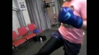 2012年10月16日(火)兵庫県尼崎市女性キックボクシング 沖野玉枝 検索動画 20