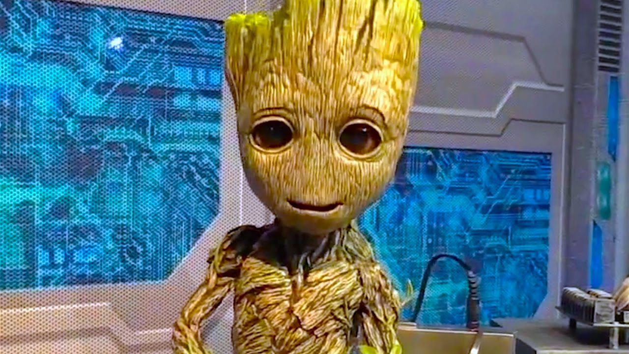 New Baby Groot Star Lord Character Meet And Greet Debut At Walt Disney World Youtube