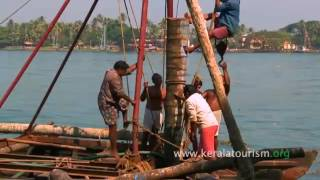 Making of Chinese Fishing Net