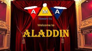AMA THEATRE CO  Aladdin Live Online 2020