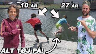 SKUBBET I VANDET AF 10-ÅRIG!
