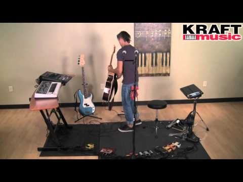 Kraft Music - Tony Smiley (The Loop Ninja) with RC-3 Loopstation Performance 4