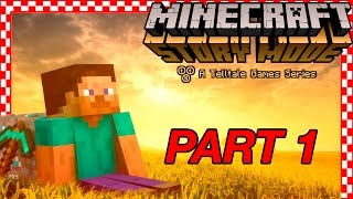 Minecraft: STORY MODE FULL GAME Part 1 (Episode 1) | DOGE ARMY