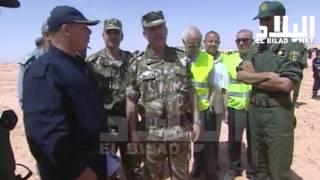 """الجيش الوطني الشعبي ينفذ تمرين """" ساركس 2016 """"  --el bilad tv--"""