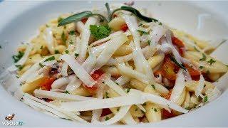498 - Cavatelli calamari e pecorino...e conquisti Aladino (pasta di pesce facile veloce gustosa)