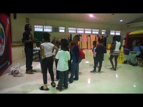 Yosef TheSower at Malcolm X Elementary School DC