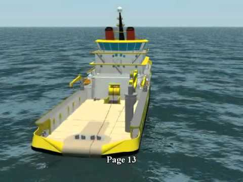 Anchor Handling by using a keel bin, presentation