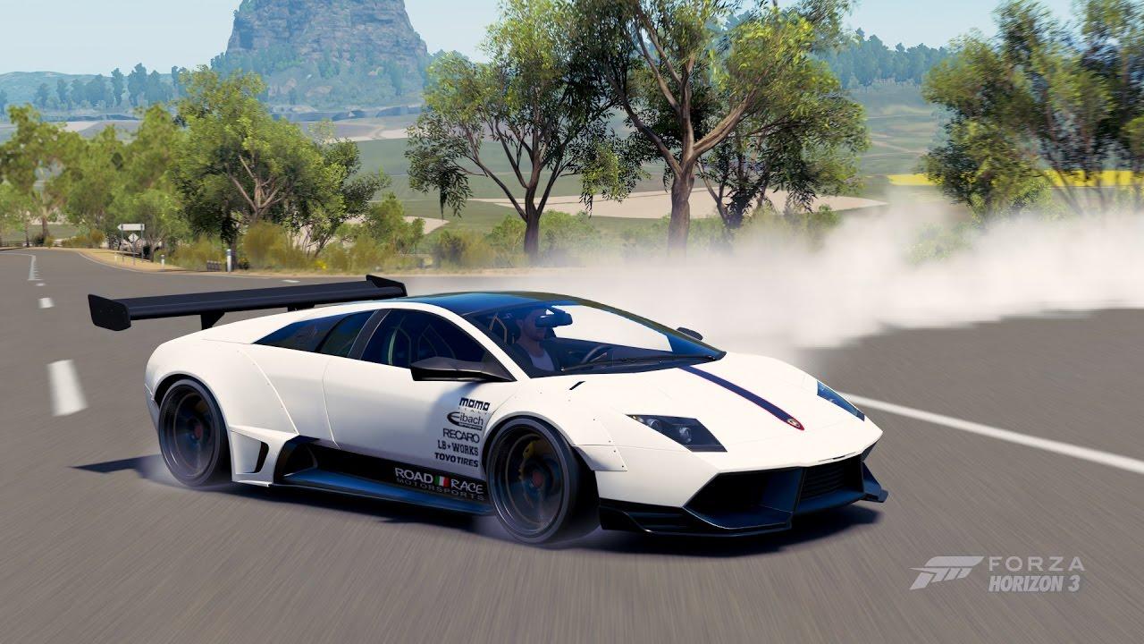 Liberty Walk Lamborghini Murcielago Lp670 4 Sv 2010 Forza Horizon