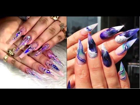 best acrylic nail art designs 2020  cute acrylic nails
