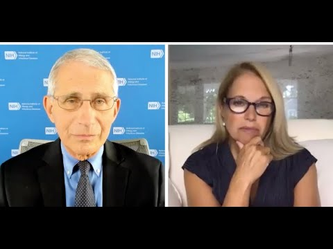Katie Couric Talks to Leading Infectious Disease Expert Dr. Fauci About the COVID Pandemic.