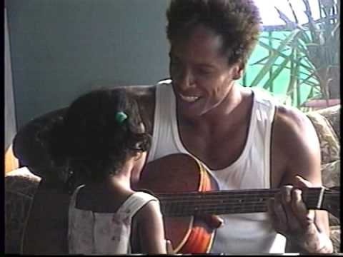 Gary Dourdan serenade's his daughter as the late Billy Harris jam at friends home at Venic beach.