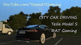 Tesla Model S | Test Drive | City Car Driving