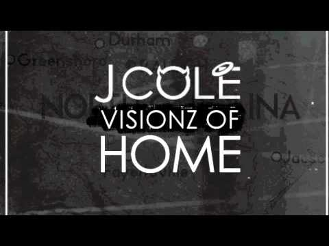 J.Cole - Visionz Of Home NEW 2012!