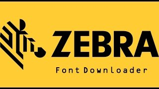 Zebra Font Downloader
