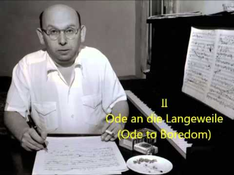 Eisler: Two songs from the