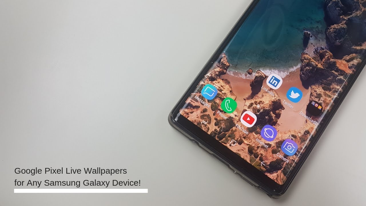 Download Google Pixel 3 Live Wallpaper for Galaxy S7, S8, S9, S9+ and Note 9