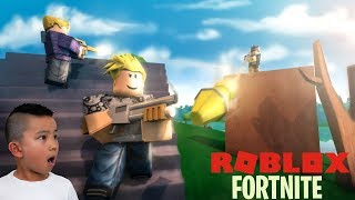 Roblox Island Royale Just Like Fortnite Gameplay With CKN Gaming
