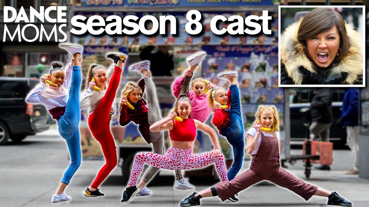 Dance Moms Cast Breaks 10 Minute Challenge Record Youtube