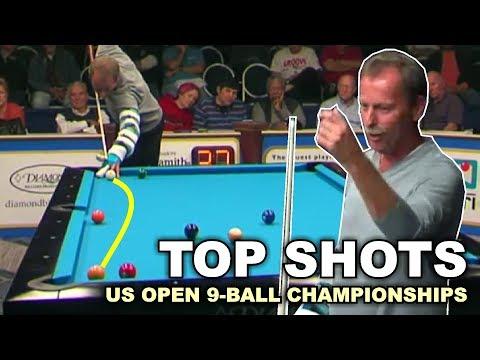 TOP 50 BEST SHOTS! US Open 9-ball Championship 2017