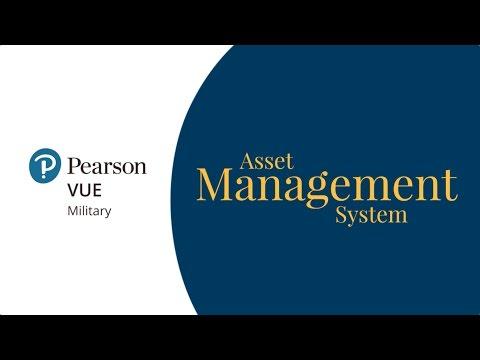 Pearson VUE - Asset Management System