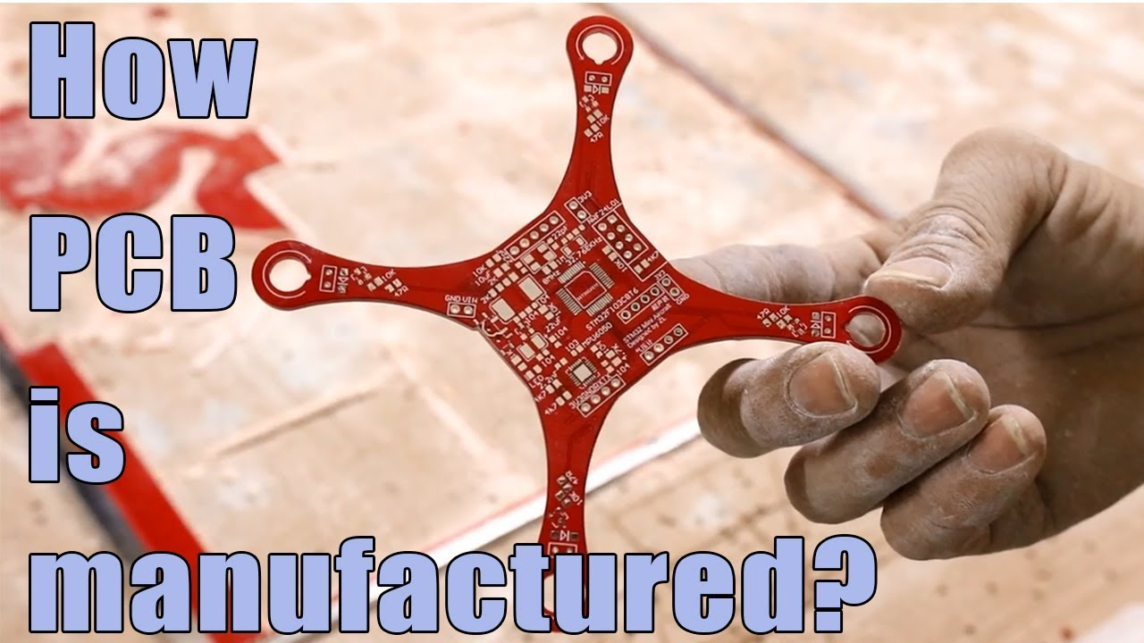 How PCB is manufactured? Printed circuit board Manufacturing Process in  PCBWay