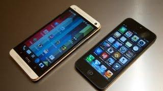 HTC One vs iPhone 5(Купить iPhone 5 16Gb http://goo.gl/B5u1O4 Купить iPhone 5 32Gb http://goo.gl/asvqEl Купить iPhone 5 64Gb http://goo.gl/q1so50 Купить HTC One ..., 2013-05-10T00:24:24.000Z)