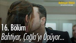 Bahtiyar, Aylinin yanında Çağlayı öpüyor - Bahtiyar Ölmez 16. Bölüm