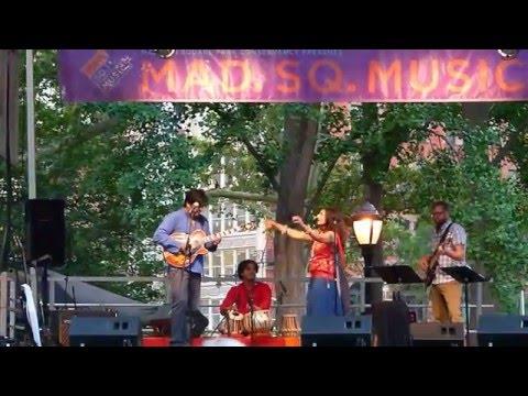 Kiran Ahluwalia LIVE Mustt Mustt at Madison Sq Park, NYC