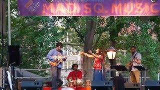 kiran ahluwalia live mustt mustt at madison sq park nyc