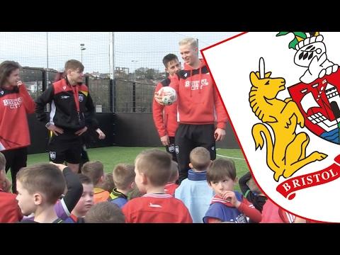 Bristol City Community Trust's February half-term football camp