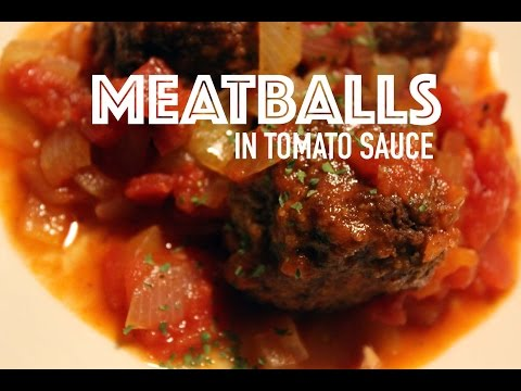 MEATBALLS / ALBÓNDIGAS IN TOMATO SAUCE RECIPE BY SPANISH COOKING
