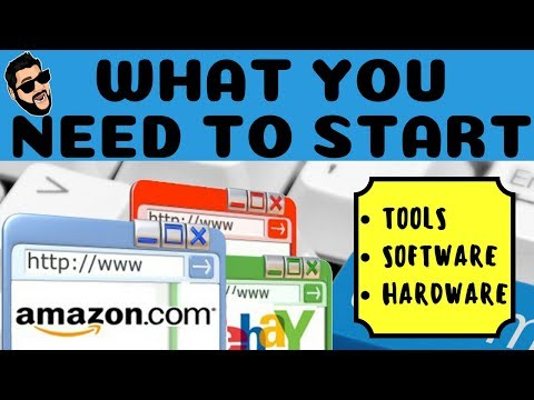 How To Get Started On Amazon - Tools, Software, Hardware, & Resources You Need  Tutorial thumbnail