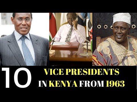 Do You Know Kenya Vice Presidents? The Kenyan Sauce  Top 10 Kenya Vice Presidents Since Independence