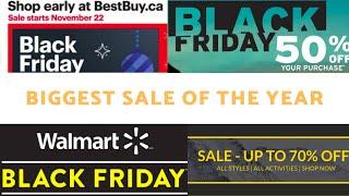 Best Black Friday Deąls in Canada 2020 [Best Buy, Amazon, Walmart, Staples, Eddie Bauer, North Face]