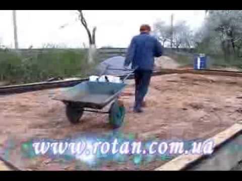 Тачка садовая двухколесная Трудяга WB 6211 - YouTube