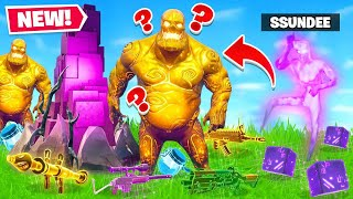 INVISIBLE ZOMBIE LOOTING *CHALLENGE* in Fortnite Battle Royale