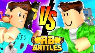 DENIS vs SUB-RB Battles Championship para 1 milhão Robux! (Torre de Roblox do Heck)