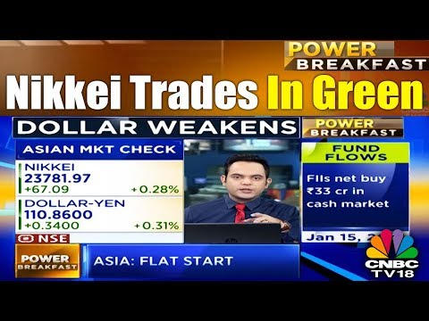 Asian Market Check | Nikkei In Green As Inflation Data Up By 3.1% | CNBC TV18