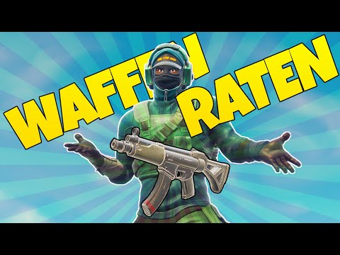 WAFFEN RATEN CHALLENGE | Fortnite Battle Royale